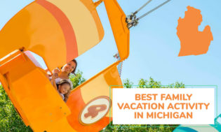 The best family vacation activity in Michigan.