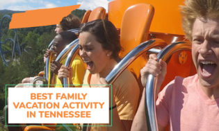 The best family vacation activity in Tennessee.