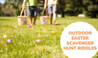 A Collection Of Outdoor Easter Scavenger Hunt Riddles For Kids