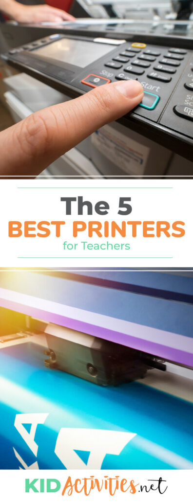A collection of the best printers for teachers. These printers have all the features teachers are looking for including meeting the budget.