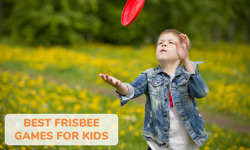 A collection of the best frisbee games for kids.
