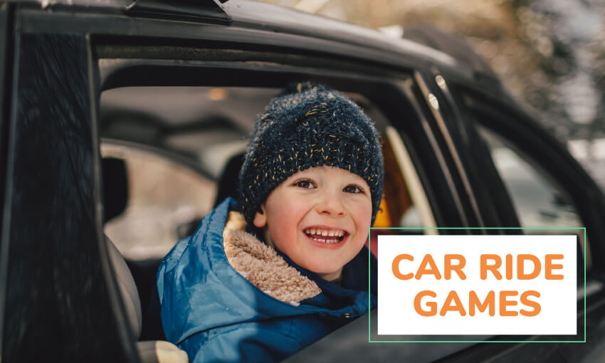A collection of car ride games for kids.