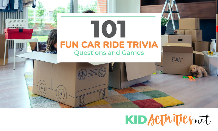A Collection Of Car Ride Trivia Questions And For Kids