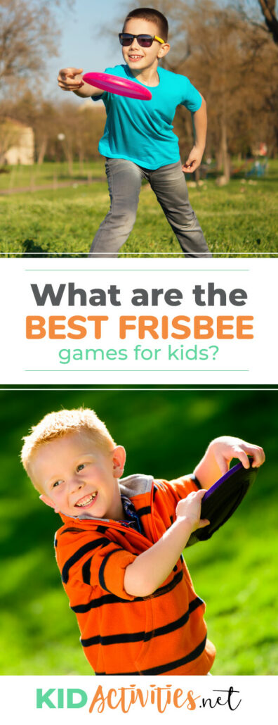 What are the best frisbee games for kids? Check out this list of 21 frisbee games.