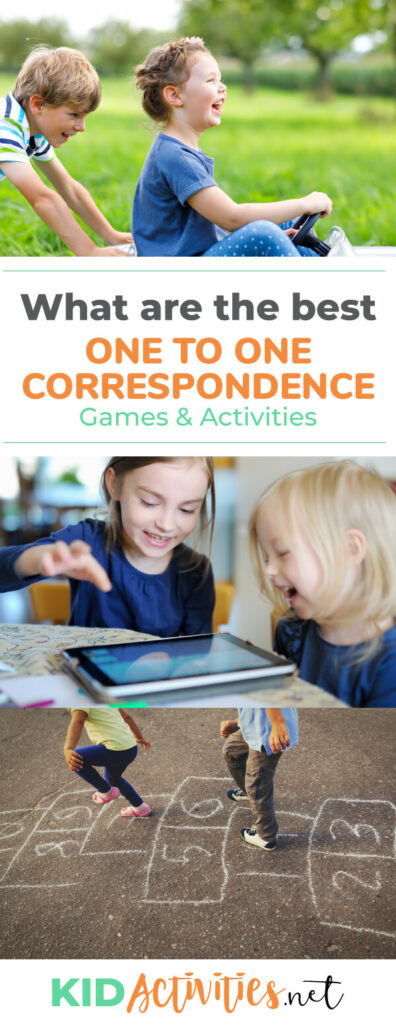 What are the best one to one correspondence games and activities for kids? We have compile the list.