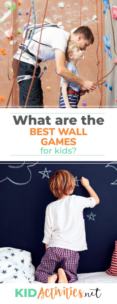 What are the best wall games for kids? We have compiled 14 great games using walls. Ideal for gym class or most rooms with walls.