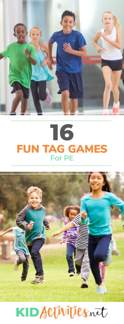 A collection of fun tag games for gym class. These games incorporate an element of exercise making them great for gym class.