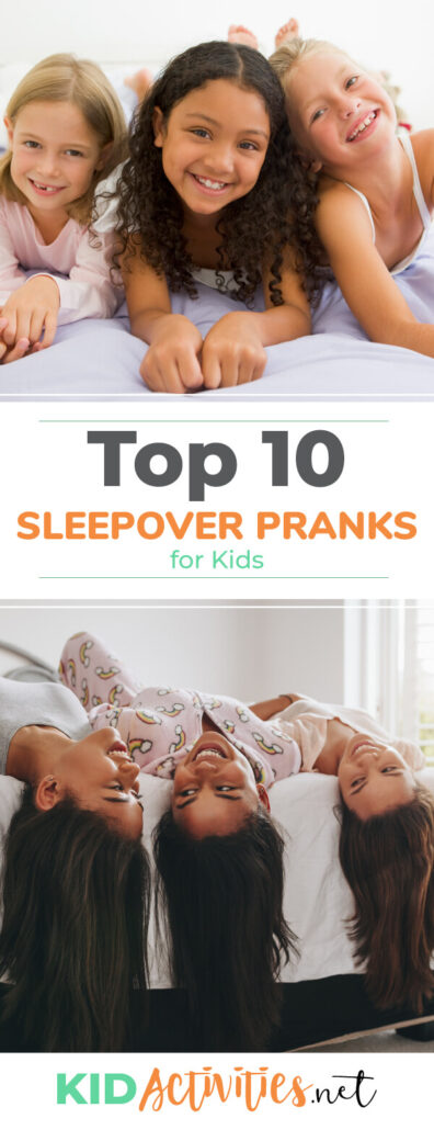 A collection of sleepover pranks for kids. Some funny, some scary, all entertaining.