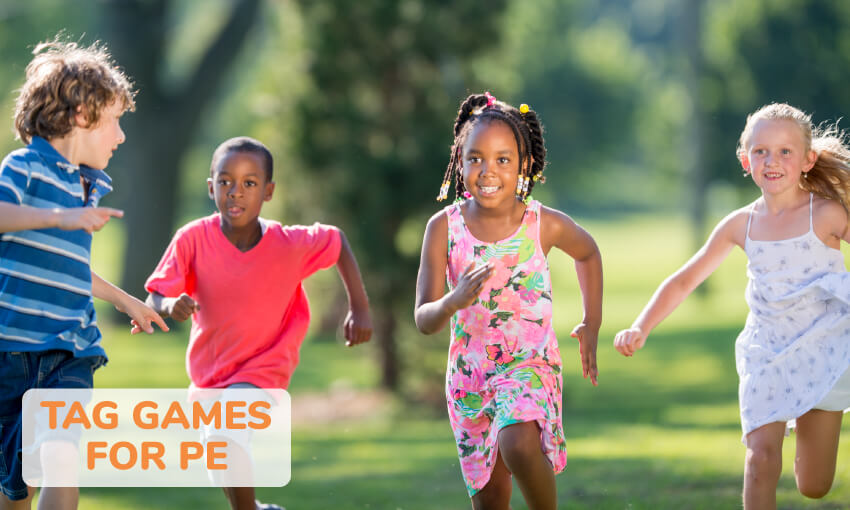 A list of 16 tag games for PE.