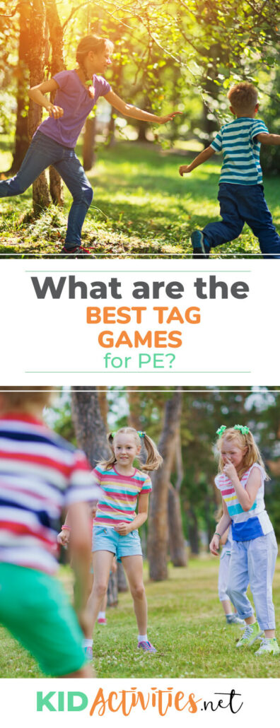 What are the best tag games for PE? We provide 16 tag games that incorporate an element of exercise, making them ideal for gym class.