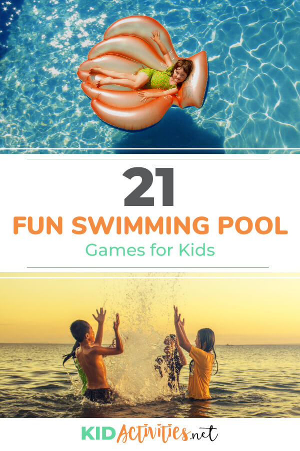 21 Fun Swimming Pool Games for Kids - Kid Activities