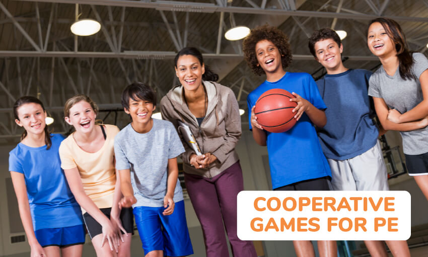 A collection of cooperative games for PE.