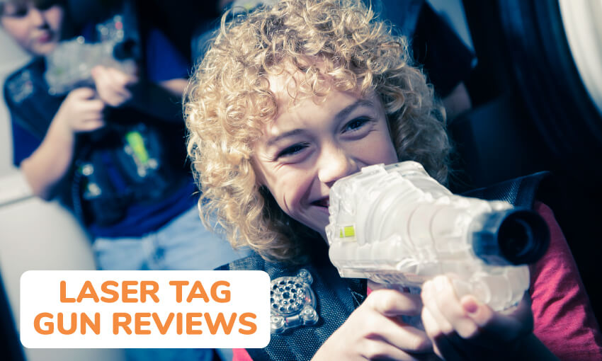 Reviews of some of the best laser tag guns available.