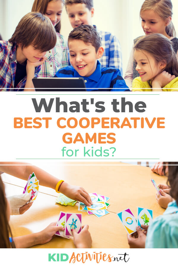 What are the best cooperative games for kids? Check out these 41 games that teach cooperation too kids.