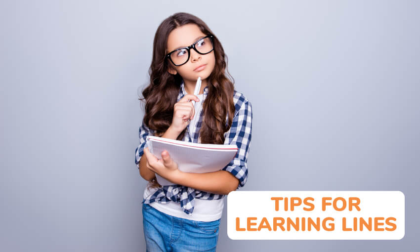 A collection of 10 tips for learning how to memorize your lines.