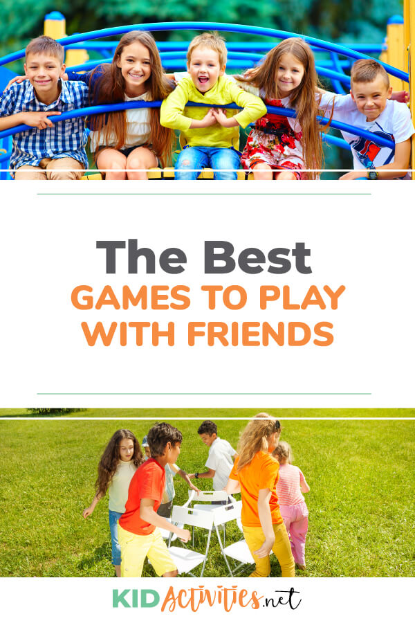 What are the best games to play with friends? Here we have a list of 50 great options. These games are sure to help cure boredom and keep kids entertained.