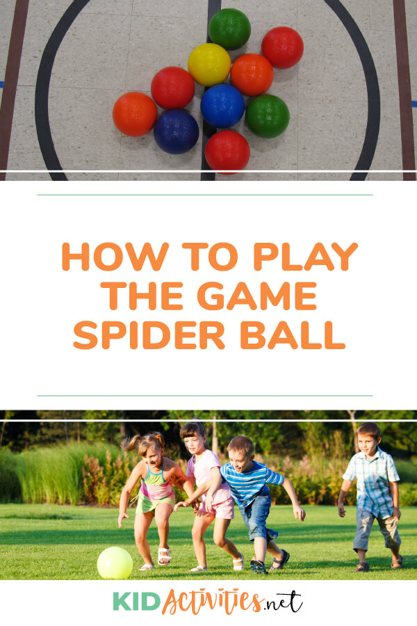Learn the rules and game instruction for the game spider ball.