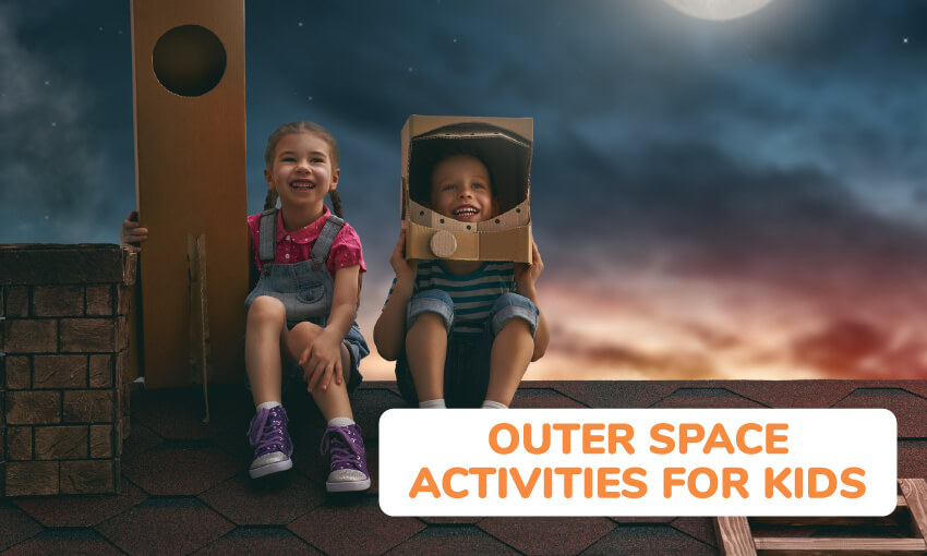 A collection of outer space activities for kids.