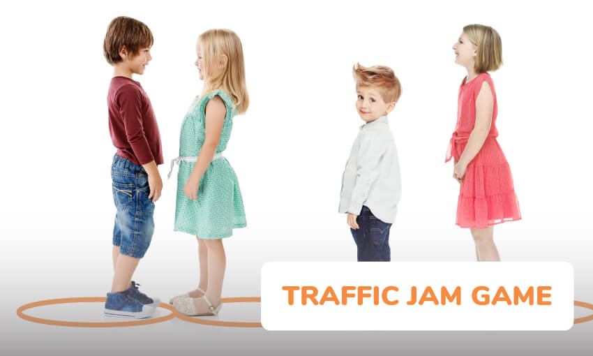 Instructions on how to play traffic jam.