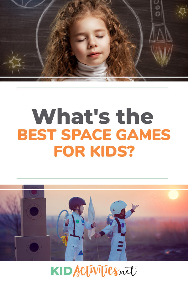 What's the best space games for kids? Here you will find 15 fun and entertaining space themed games. Great for birthday parties or a space themed classroom day.