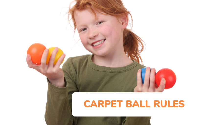 Additional carpet ball rules