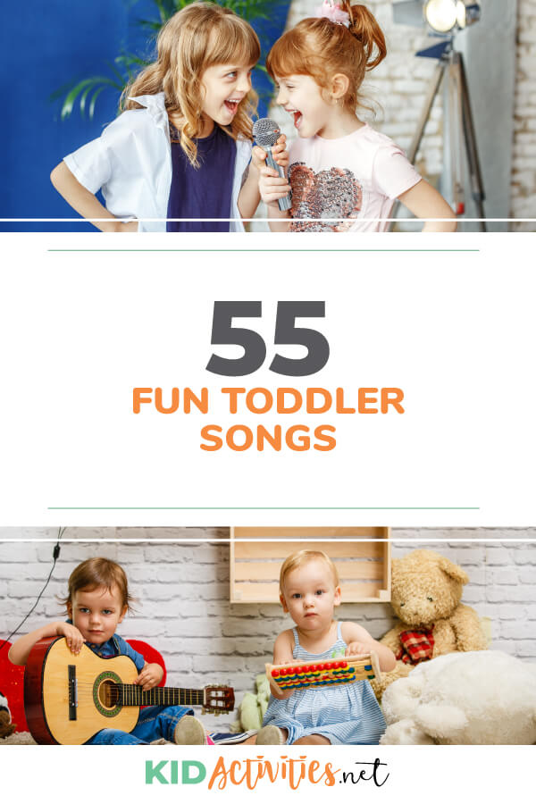 A collection of fun toddler songs to sing. Great for preschool or at home. What child doesn't love singing?