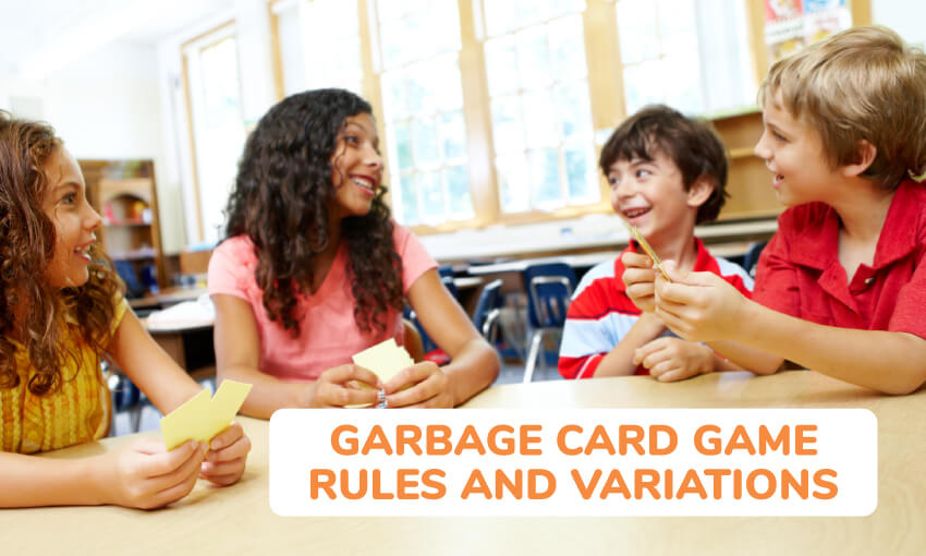 garbage card game rules and variations