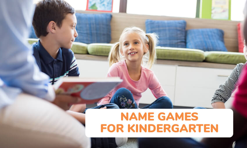 Name games for kindergarteners