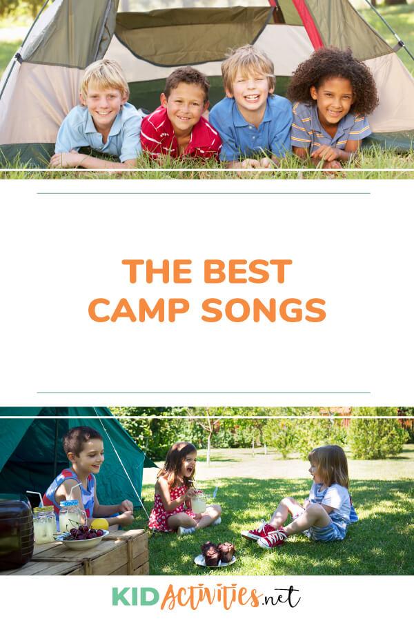 20 Summer Camp Songs for Kids - Kid Activities