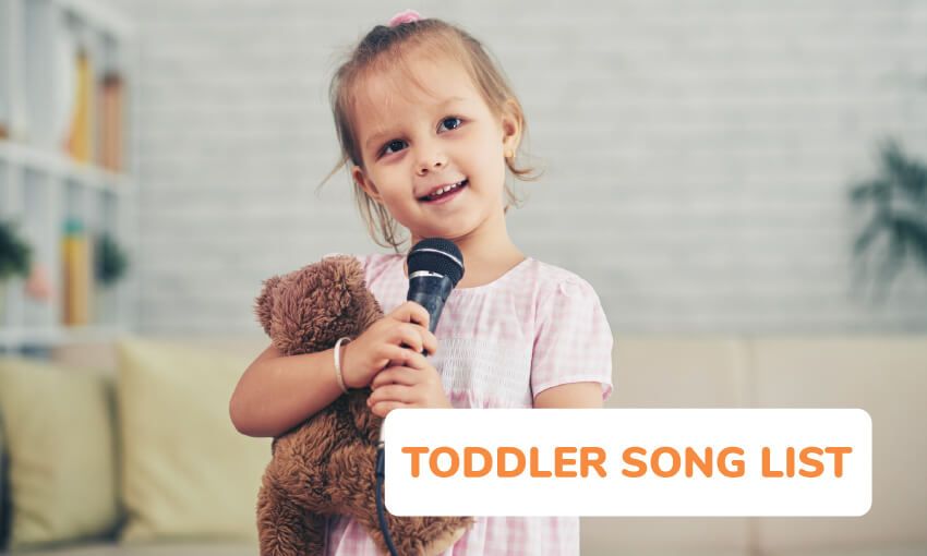 The best toddler song list.