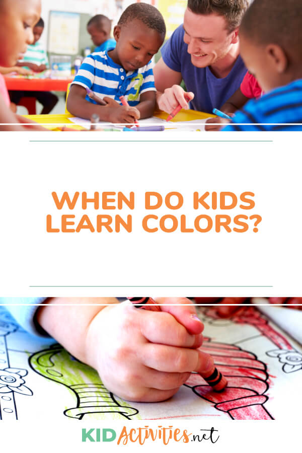 Get information on when kids should know their colors and ways to help them learn. We have compiled 5 methods for helping your kids learn their colors.