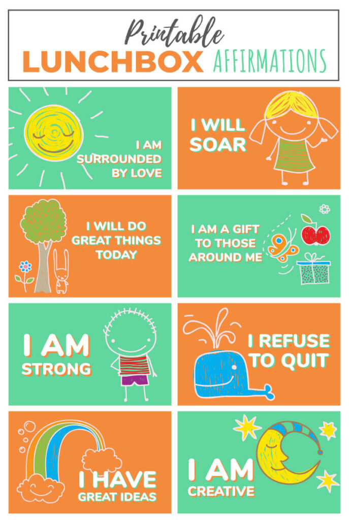 picture relating to Printable Positive Affirmations called 151 Confident Affirmations for Little ones - Baby Functions