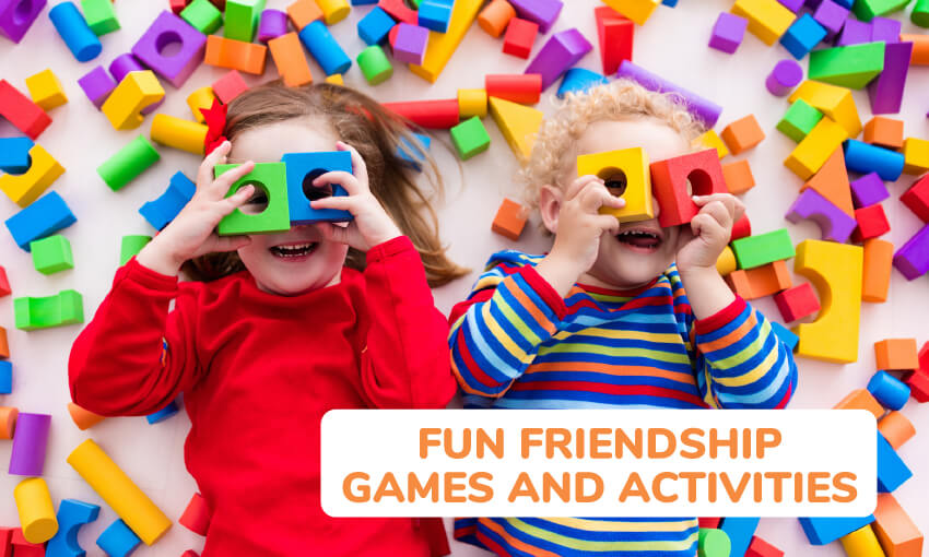 A collection of fun friendship games and activities.