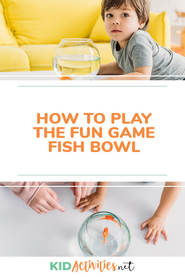 Learn how to play the fun game that is known as fishbowl.