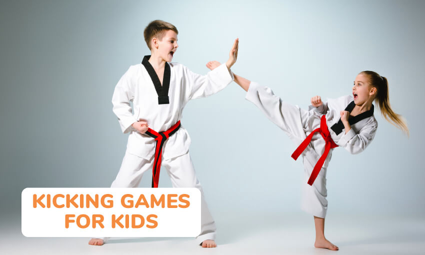 A collection of kicking games for kids.