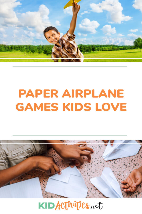 A collection of paper airplane games kids love.