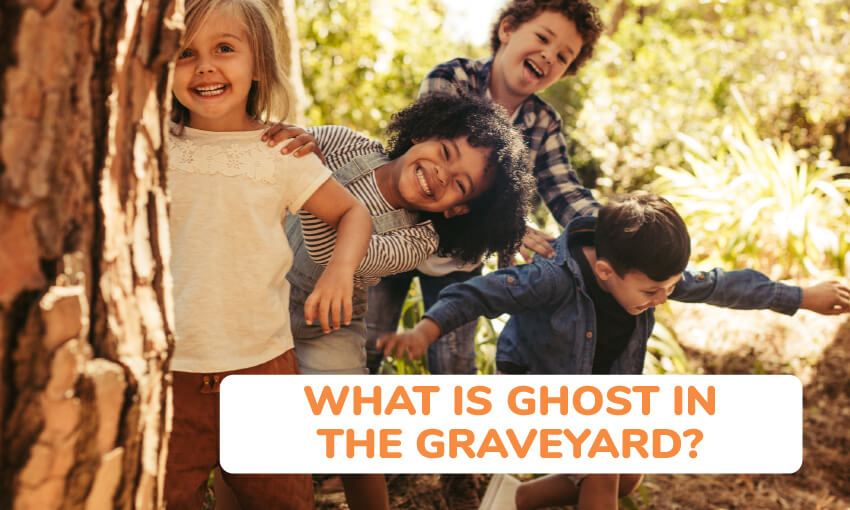 A description of what the game ghost in the graveyard is