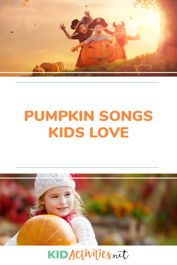 A collection of pumpkin songs kids love.