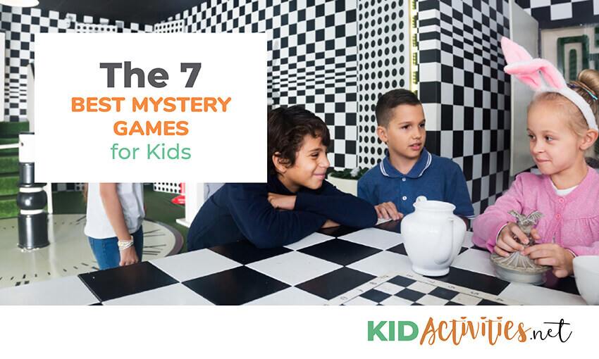 A collection of the best mystery games for kids.
