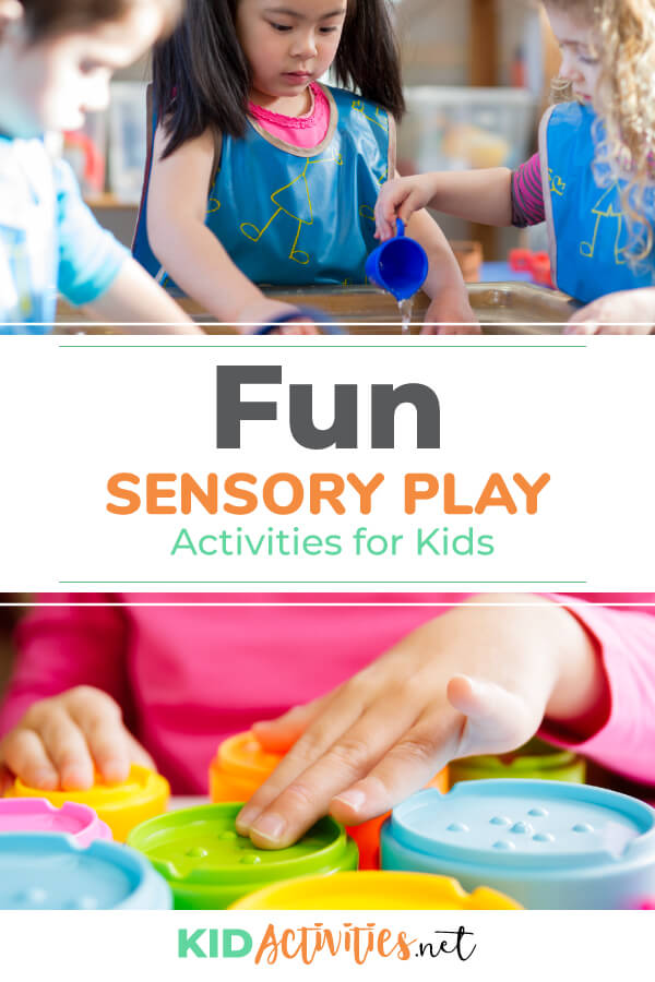 A collection of fun sensory play activities for kids.
