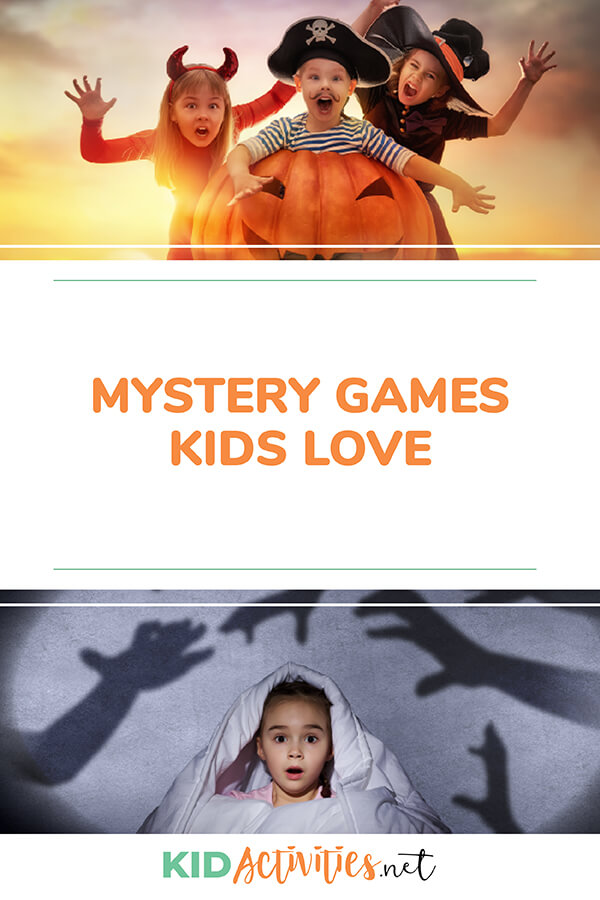 A collection of mystery games kids love.