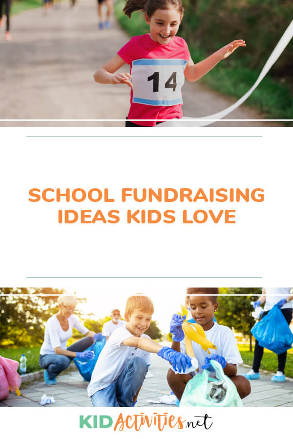 A collection of school fundraising ideas kids love.