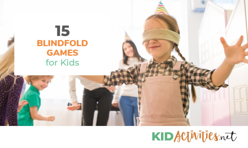 blindfold games for kids
