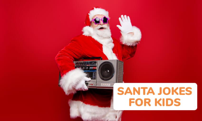 A list of funny Santa jokes.