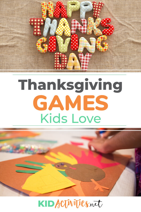 A collection of Thanksgiving games kids love to play.